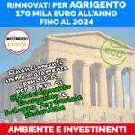 """Politica. L'on. Michele Sodano (M5S): """" Agrigento riceverà 170mila euro all'anno per investimenti in opere di efficientamento energetico e sviluppo sostenibile"""""""