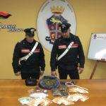 Colpo grosso a Sciacca (AG): arrestati due pusher e sequestrati 1 kg di marijuana e 20.000 euro