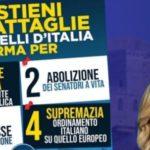 Fratelli d'Italia, domani a Favara raccolta firme a sostegno di quattro proposte di legge di iniziativa popolare