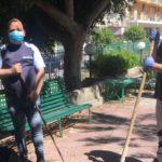 """Favara, due volontari puliscono la villa San Pio; """"L'abbiamo fatto con il cuore"""""""