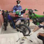 Sorpresi a rubare materiale ferroso e bombole in un capannone di Montaperto: due arresti.