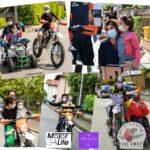 Agrigento, Vanni Oddera arriva in città con la mototerapia take away