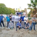 Favara. Il gruppo di tifosi juventini scende in campo bonificando l'area verde di Viale Aldo