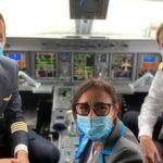 Volo inaugurale Firenze-Palermo-Firenze Air Dolomiti