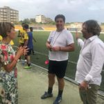 "Pro Favara. Visita del sindaco Anna Alba allo stadio ""Bruccoleri"""