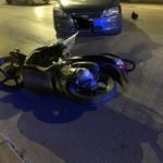 Moto contro auto al Villaggio Mosè: motociclista finisce al pronto soccorso