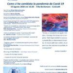"""Cultura. Oggi alle ore 18 presso Villa Bordonaro di Canicattì, la conferenza """"Come ci ha cambiato la pandemia da Covid 19"""" organizzata dalla FIDAPA"""