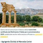 """Politica. Michele Sodano (M5S): """"Il Movimento 5 Stelle ha scelto Marcella Carlisi come candidata a Sindaco di Agrigento"""""""