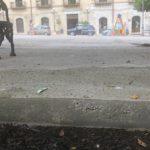 Favara. Ma che tipo di lavoro è stato realizzato sul marciapiede di piazza Cavour ???!!!