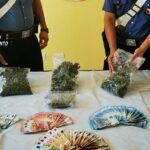 Sciacca: arresto di un cittadino saccense per detenzione di marijuana ai fini di spaccio.