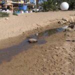 San Leone. Condotta di acque nere allagata la spiaggia dell'Aquasetz (VIDEO)