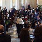 Consegna della pergamena di laurea in memoria di Lorena Quaranta (VIDEO)