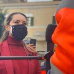 Sciopero Netturbini. Striscia la Notizia intervista la sindaca egli operatori ecologici