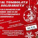 """Favara. 19 e 20 dicembre la prima """"Virtual Tombolata della solidarietà"""" in diretta streaming e radiofonica su Radio In Agrigento"""