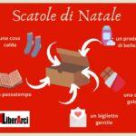 """Favara. Anche Il circolo Arci """"LiberArci"""" aderisce all'iniziativa di caratura nazionale denominata """"Scatole di Natale"""""""
