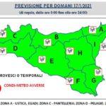 Sicilia. Allerta Meteo, la protezione civile lancia l'allarme