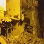 Favara. Crolla casa in via Pirandello (VIDEO)