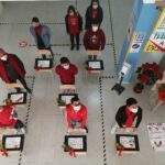 Il Liceo Martin Luther King di Favara ricorda le vittime del femminicidio con un flashmob simbolico.