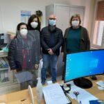 Menfi. L' Istituto Walden dona un computer alla scuola Santi Bivona, dopo il furto subito