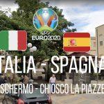 Favara, maxischermo: il Chiosco la Piazzetta si prepara per Italia-Spagna