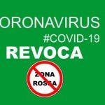 Revoca zona rossa in sette comune compresso Favara