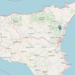 La Sicilia ritorna a tremare, terremoto magnitudo 3.1
