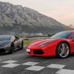 Racalmuto. Guida Ferrari e Lamborghini all'Autodromo Valle dei Templi