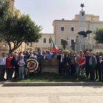 Favara. Questa mattina in Piazza Cavour si è celebrata la Festa della Liberazione