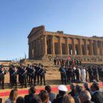 Valle dei Templi. Cerimonia del 205° Anniversario della Fondazione dell'Arma dei Carabinieri