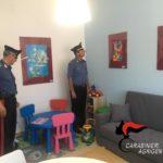 Inaugurata la stanza dei colori, per le audizioni protette, presso la Compagnia Carabinieri di Sciacca