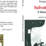 """Agrigento. Presentazione del libro """"Salvatore Bosco, il filosofo del popolo"""""""