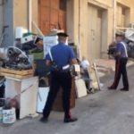 Scoperta una discarica in città a Licata.Sequestrata un'area di 300 metri quadrati ed una tonnellata di rifiuti.