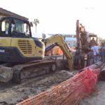 Intervento in Via Nettuno a San Leone – Domani il tratto stradale sarà nuovamente transitabile