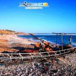 """Agrigento. MareAmico: """"Povera Sicilia…durante la notte di Ferragosto è stata bruciata un'imbarcazione di migranti a Piana Grande"""""""
