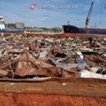Sequestrato carico di oltre 2000 tonnellate di rifiuti ferrosi caricati sulla Motonave