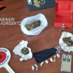 """Arrestato spacciatore """"green"""" a Porto Empedocle."""