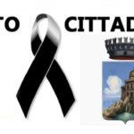 Favara. Proclamazione del lutto cittadino in occasione delle esequie del concittadino Antonio Domante