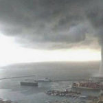 Allerta meteo, tromba d'aria a Licata: tetti scoperchiati