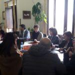 Incontro oggi del sindaco Anna Alba con i rappresentanti di tutti gli istituti scolastici di Favara per lanciare una serie di iniziative