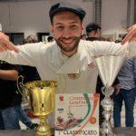 """Il favarese Carmelo Pistritto 1° classificato al """"Campionato Gourmet"""" della pizza"""