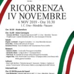 """Favara. Mercoledì 6 novembre presso l'I.C. """"Bersagliere Urso-Mendola-Vaccaro"""" si celebra la ricorrenza del IV novembre"""