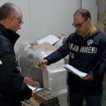 Un cenone sicuro con i Carabinieri: sequestrate 3 tonnellate di pesce avariato.
