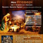 """Favara. La Famiglia Francescana organizza la prima Rassegna """"Concorso Mini Presepi- Greccio 1223-Favara 2019"""""""