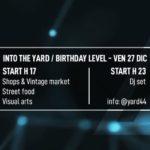 Favara. Venerdì 27 dicembre Yard44 festeggia il suo primo anno di attività presso il cortile Dulcetta