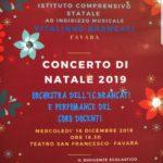 """Favara. Mercoledì 18 dicembre alle ore 18.30, il Concerto di Natale dell'orchestra dell'I.C. """"Brancati"""""""