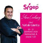 Sicilia. Anche lo chef siciliano Natale Giunta parteciperà alla 41^ edizione del Sigep di Rimini con il tiramisù sferificato.