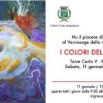 """Cultura. Sabato 11 gennaio presso la Torre Carlo V di Porto Empedocle, la personale di pittura di Carmelina Guarneri """"I colori dell'universo"""""""