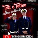 """Favara. Domani sera ritorna presso il Teatro San Francesco, in scena il cabaret di Toti e Totino con """"Un Primo e un Secondo"""""""