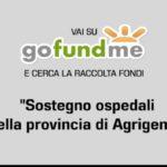Emergenza sanitaria Covid-19. Raccolta fondi per sostenere gli ospedali della provincia di Agrigento (VIDEO)
