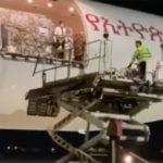 Coronavirus, all'aeroporto di Palermo un boeing con 40 tonnellate di materiale sanitario per la Sicilia (VIDEO)